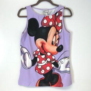 Disney | Minnie Mouse purple tank top L